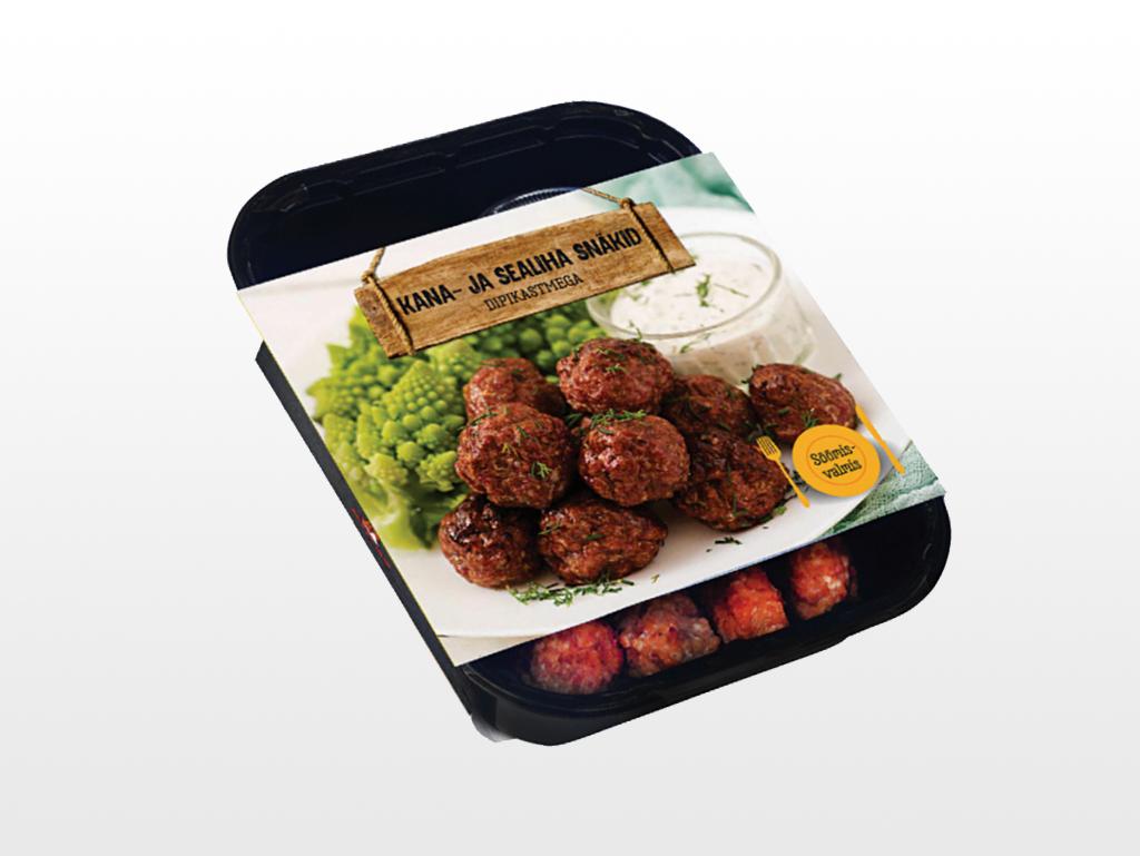 Meatballs with dip sauce